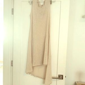 Echo Pom Pom Slub Tank Dress
